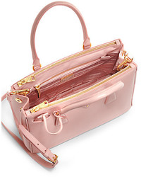 807f6f2d2f11 ... Saks Fifth Avenue › Prada › Grey Leather Handbags Prada Saffiano Lux  Small Double Zip Tote Prada Saffiano Lux Small Double Zip Tote ...