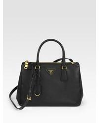 4c592c6091e8 ... Saks Fifth Avenue › Prada › Grey Leather Handbags Prada Saffiano Lux  Small Double Zip Tote Prada Saffiano Lux Small Double Zip Tote Prada  Saffiano Lux ...
