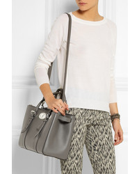 d6bcd328 Mulberry The Bayswater Double Zip Textured Leather Tote, $2,600 ...