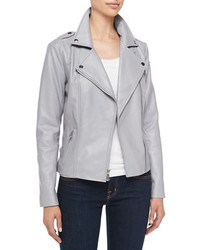 Women's Grey Leather Jackets from Neiman Marcus | Women's Fashion
