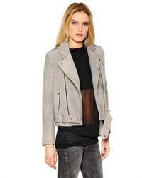 IRO Washed Nappa Leather Moto Jacket