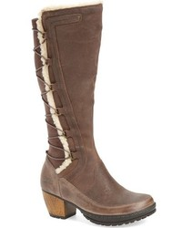 Alberta faux shearling lined knee high boot medium 793149