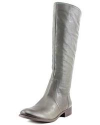 Randee round toe leather knee high boot medium 6860592