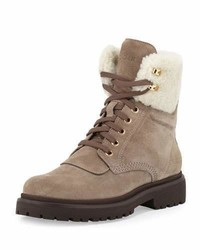 Patty shearling hiker boot gray medium 843522