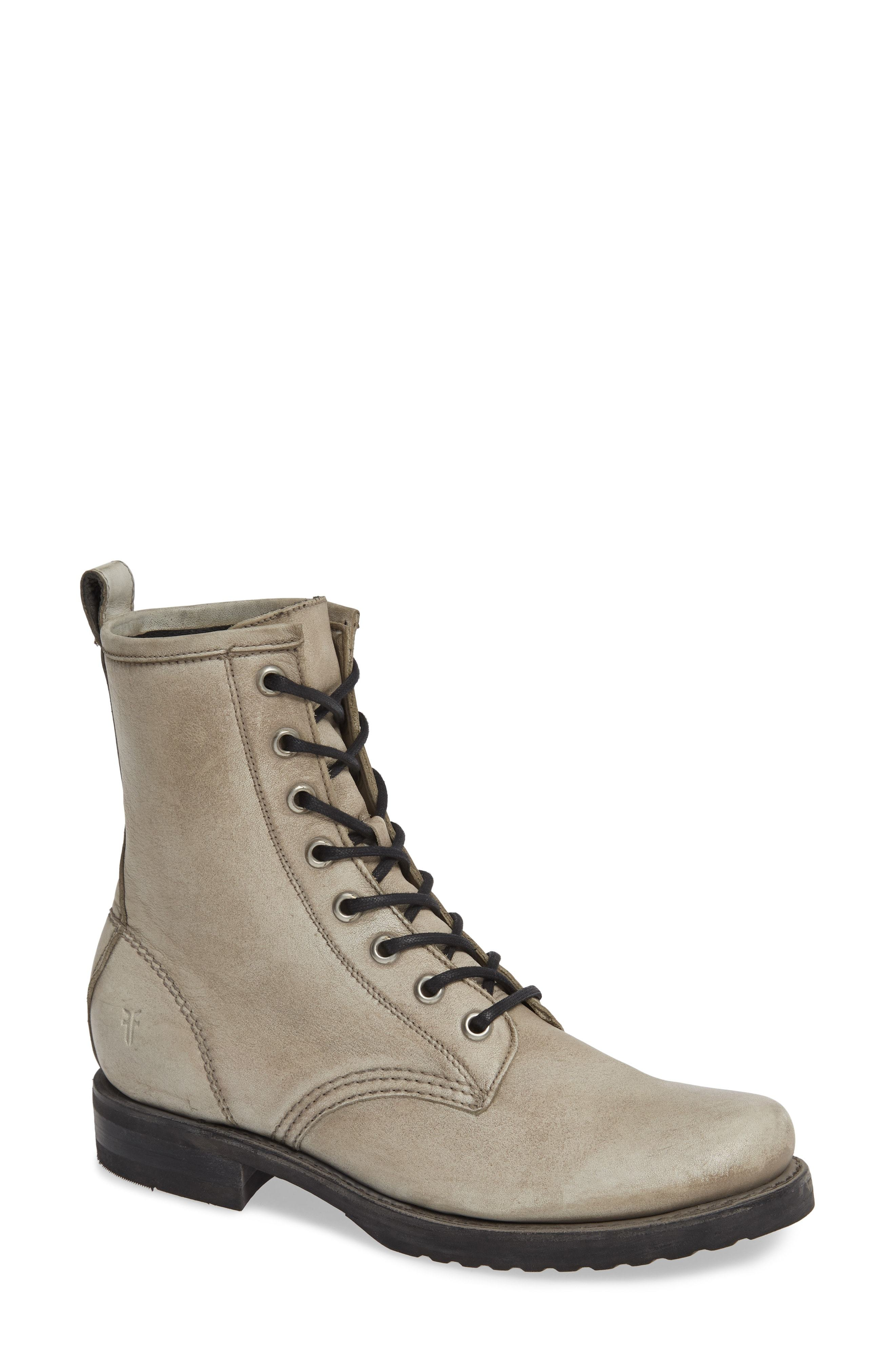 a68e9905f Frye Veronica Combat Boot, $197 | Nordstrom | Lookastic.com