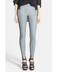 Grey Leather Leggings for Women | Women's Fashion