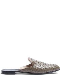 Fiandra intrecciato leather slipper shoes medium 4421320