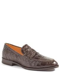 Zelli roma genuine crocodile penny loafer medium 765192