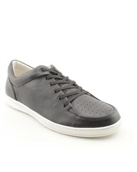 Jump Ventus Black Nappa Leather Sneakers Shoes