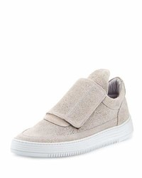 Filling Pieces Low Top Pattern Grip Sneakers Gray