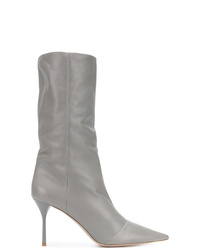 Miu Miu Pointed Toe Stiletto Boots