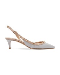 Valentino Garavani The 50 Leather Slingback Pumps
