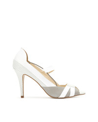 Mara Mac Panelled Peep Toe