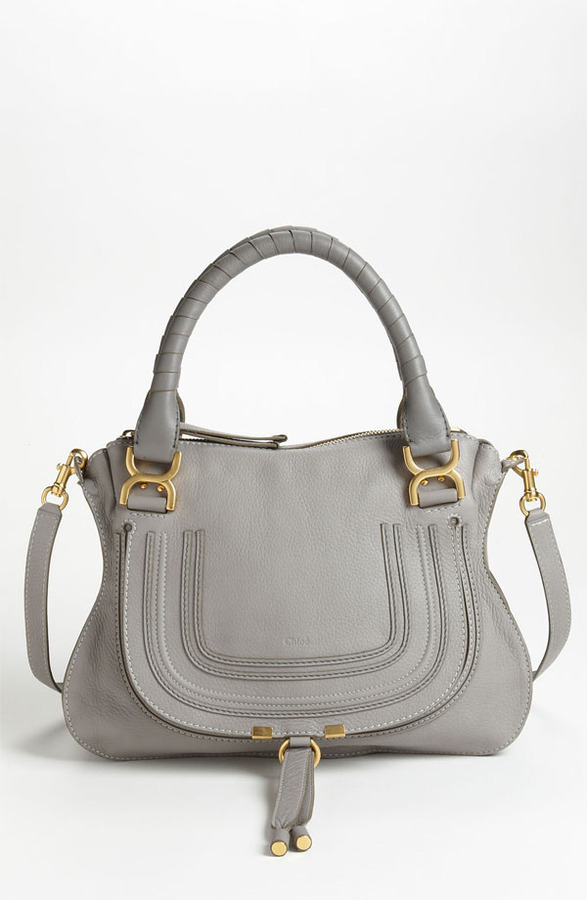 Chlo¨¦ Medium Marcie Leather Satchel | Where to buy \u0026amp; how to wear
