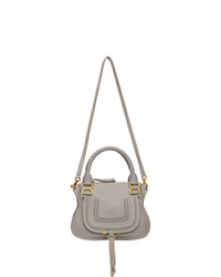 Chloé Grey Small Marcie Bag