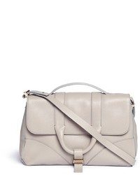 Jason Wu Hanne Grainy Leather Satchel