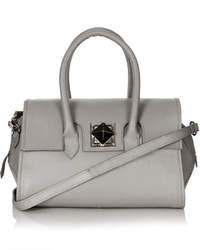 Topshop Hex Leather Holdall Bag