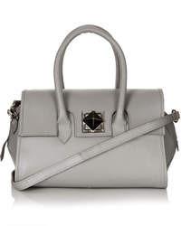 Topshop Hex Leather Holdall Bag