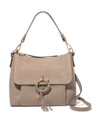 See by Chloe Joan Medium Ed Textured Leather Shoulder Bag