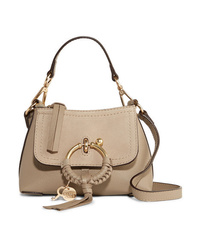 See by Chloe Joan Mini Textured Leather And Suede Shoulder Bag