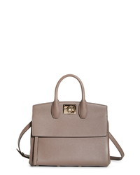 Salvatore Ferragamo The Calfskin Leather Bag
