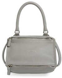 Givenchy Small Pandora Leather Satchel Pink