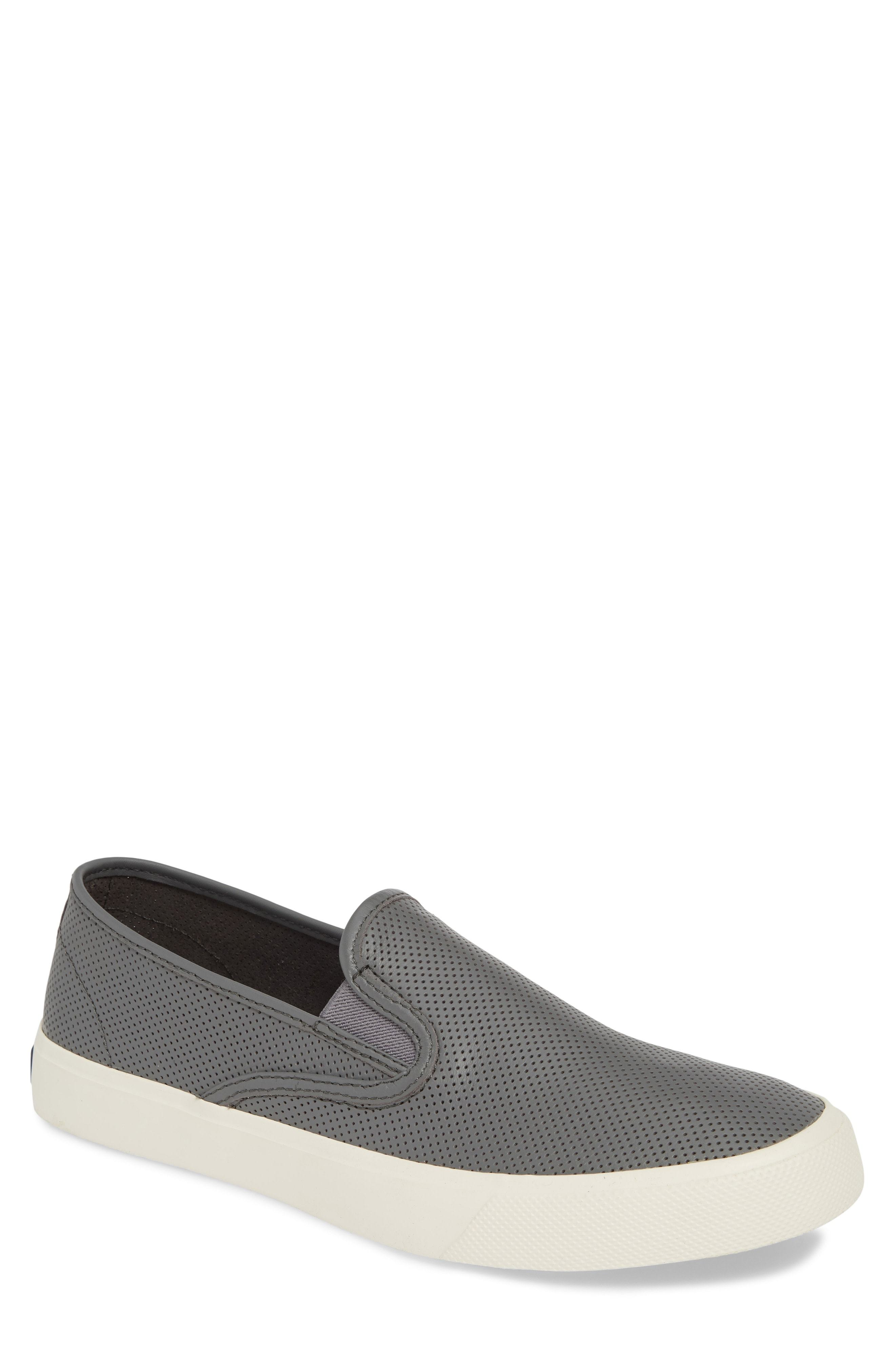 Sperry Captains Perforated Slip On