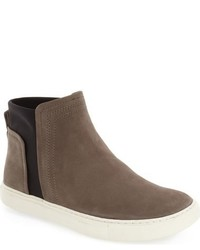 Kenneth Cole New York Ken Leather Slip On Sneaker