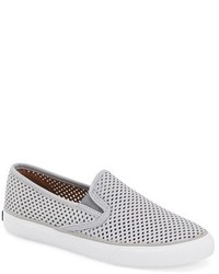 Sperry Seaside Perforated Slip On Sneaker