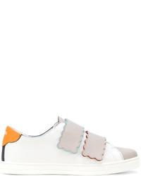 Fendi Touch Strap Sneakers