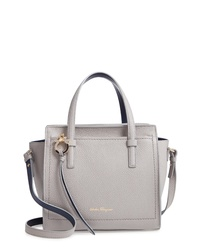 f4f21ee65ff5 Women s Grey Leather Tote Bags by Salvatore Ferragamo