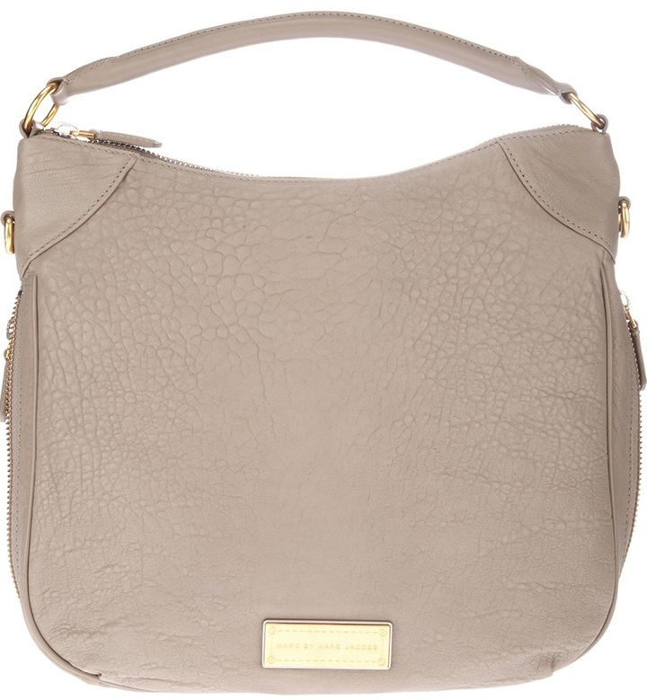 8f391bb0b39 Marc by Marc Jacobs Washed Up Billy Hobo Tote, $680 | farfetch.com ...
