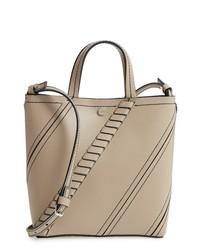 Proenza Schouler Mini Hex Stitch Calfskin Leather Tote