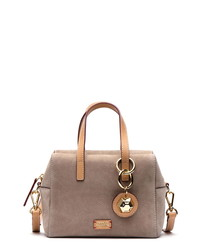 Frances Valentine Mini Nubuck Satchel