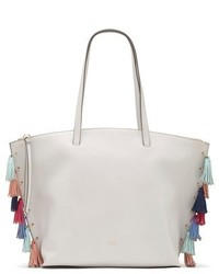 Neara tassel tote grey medium 3683596