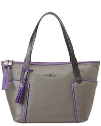 Cole Haan Parker Colorblock Small Zip Top Shopper Bags And Luggage