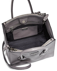 Prada Glace Calf Small Twin Pocket Tote | Where to buy \u0026amp; how to wear