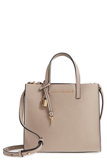 The Grind Mini Colorblock Leather Tote