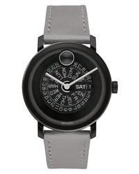 Movado Bold Evolution Leather Watch