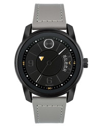 Movado Bold Verso Leather Watch
