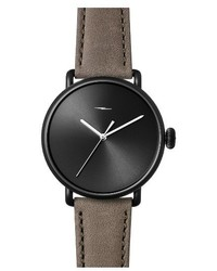 Shinola Bolt Leather Strap Watch 42mm