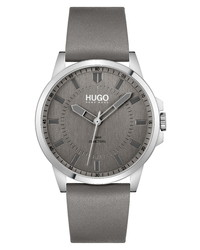 BOSS First Leather Watch