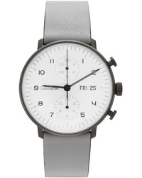 Junghans Grey Max Bill Chronoscope Watch