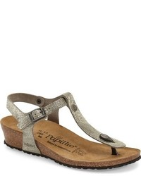 Papillio by ashley t strap wedge sandal medium 632614