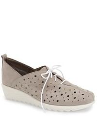 The Flexx Run Crazy Two Perforated Wedge Sneaker