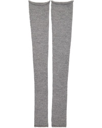 Acne Studios Grey Long Jill Leg Warmers