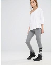 Sundry Stripe Gray Leggings