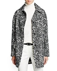 Mango Outlet Leopard Print Oversize Coat