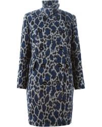 Sacai Luck Leopard Print Coat