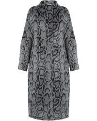 Elizabeth and James Balin Leopard Print Faux Fur Coat
